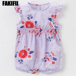 American&Nourrisson de style européen de l'usure de l'été bébé Romper Factory vêtement en coton