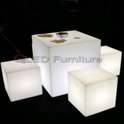 80см 16смены цветов светодиодный пластмассовый Cube мебель со скидкой