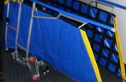 Pont mobile pour la protection de l'adaptateur