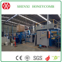 Hcm-1600 Full-Automatic Honeycomb haute vitesse Machine de base