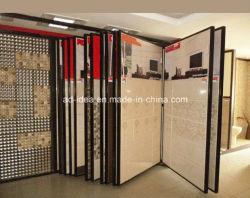 Rotation de granite d'aile de Quartz Céramique/Affichage mosaïque des racks de meubles de fabrication en acier métallique du statif