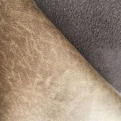 Lederne Gewebe Qualitätkünstliche Faux PU-Foild für Upholystery Sofa-Möbel