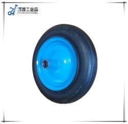 13 인치 외바퀴 손수레 타이어 4.00-6 고체 고무 바퀴