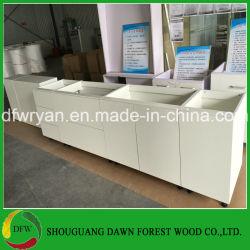 Un design moderne des armoires de cuisine des armoires de cuisine chinoise de gros (DFW-KCM003)