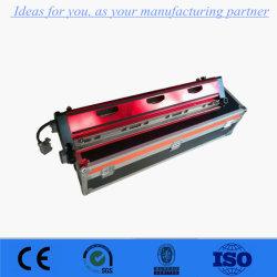 Control automático de PVC refrigerado por aire/PU conjunta de la cinta transportadora de prensa de calor