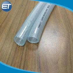 توسيع مرنة ألياف PVC الشفافة المبطنة خرطوم حديقة الري بالمياه