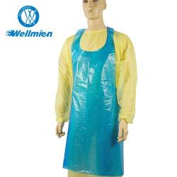 Одноразовые HDPE LDPE больнице медицинского водонепроницаемый фартук питание кухня PE фартук
