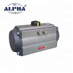 Alphaserie-pneumatischer Kugel-Stellzylinder