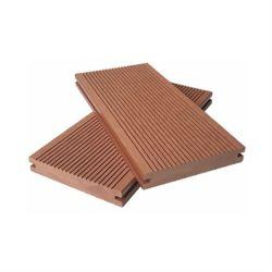 De solides à l'extérieur en bois Composite Decking WPC plancher imperméable en plastique