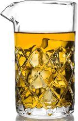Vidro de mistura de cocktail, Arremessador de vidro de mistura de cristal com espessura inferior, Vidro de mistura de Barra Premium para agitar as bebidas, copo de Cocktail de vidro de agitação profissional