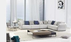 La Chine l'Italie moderne meublé de canapés en tissu de coupe pour les meubles de salle de vie