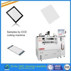 Verre de haute précision automatique CNC machine à sculpter pour téléphone mobile et le couvercle du protecteur de verre