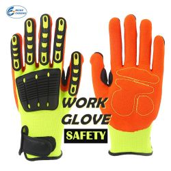 Luvas de Antiderrapagem de fábrica, Desportos Anti-Impact Industrial Mecânica Cobri luvas de trabalho