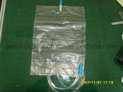 Saco de urina médicos descartáveis Saco da perna