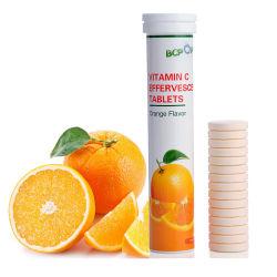 건강 식품 보조 에너지 음료 비타민 C 1000mg 삼출성 태블릿