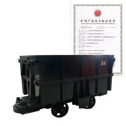 Vagón de la minería de volcado de lado la remoción de la cesta vagón de tren en venta
