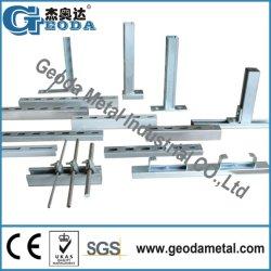 채널/스트럿 강철 채널 /Channel Unistrut 스트럿/강철 채널 지원 시스템