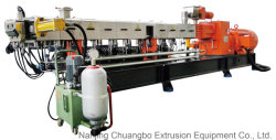 Tsb-75 extrusora de duplo fuso de PP, PE, PVC, ABS, CaCO3