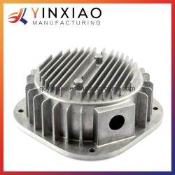 Custom fundição de moldes de precisão usinagem CNC Acessórios Motociclo/Autopeças/Dissipador de calor/Suporte Base Cadeira peça de alumínio