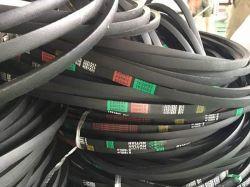 Nastro trasportatore di gomma curvo nero personalizzabile di V-Belts dell'azionamento della cinghia di gomma del trasportatore sincrono dei denti dell'unità di elaborazione del fornitore/Grezzo-Bordo della fabbrica EPDM