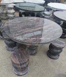 자연적인 화강암 또는 대리석 돌 홈 또는 호텔 훈장 커피 식탁