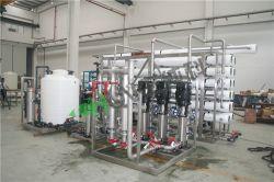 جهاز تنقية المياه من خلال نظام RO الصناعي الذي يعمل بتنقية المياه من الفولاذ المقاوم للصدأ وعكس الجهاز الماكينة