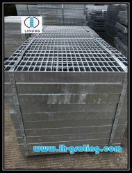 Grata d'acciaio di riserva galvanizzata delle estremità aperte
