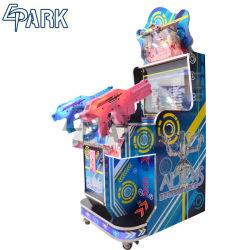 LCD de 22 monedas Mini Alien&Rambo&Paraíso Perdido a los niños de la máquina de juego de disparo
