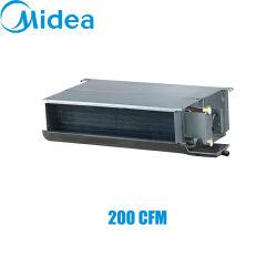 MIDEA 2열 덕트 220-240V/1ph/50Hz 200cfm 팬 코일 유닛