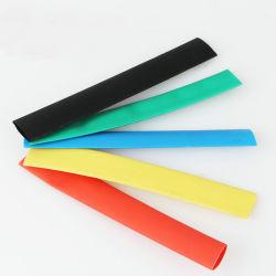 3 : 1 tube thermorétractable polyoléfine thermorétractables de film sans halogènes manchon de câble du tube de fil d'enroulement
