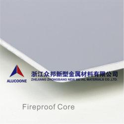Panel Compuesto de plástico aluminio PVDF de Aluminio compuesto