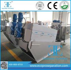 La prensa de tornillo continuo funcionamiento automático de la deshidratación de lodos