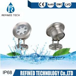 Светодиод фонтан лампа 6 Вт бассейн на 9 Вт лампа светодиодная подсветка RGB подводный прожектор