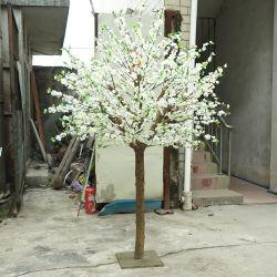 Boda al por mayor ocasión piezas centrales de la tabla de color blanco decoración Artificial árbol Rosa Flor de durazno