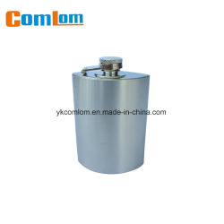 Boccetta Hip unica a forma di speciale dell'acciaio inossidabile di CL1C-HO-15 Comlom 5.5oz