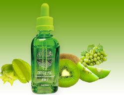 de Groene e-Vloeistof van het Aroma van de Kiwi van de Druif 0mg/3mg 10ml/50ml/60ml Carambola