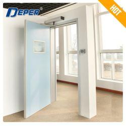 La puerta de oscilación automática/acero Swing Puerta/puerta de oscilación automática de puerta batiente/aluminio/doble puerta Swing/interior de la puerta de oscilación/ Puerta batiente de vidrio