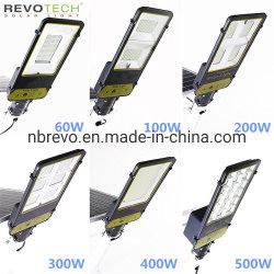 Aluminuim 새로운 최고 밝은 100/200/300/400/500W 옥외 LED 태양 공원 또는 정원 또는 가로등