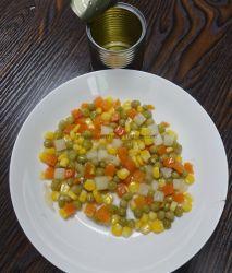 Vers gewas Groenteblik Gemengde groenten met 2/3/4 soorten