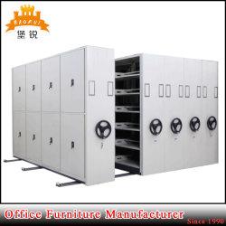 رفّ تخزين الكتلة المحمولة الفولاذية رفوف التخزين المدمج