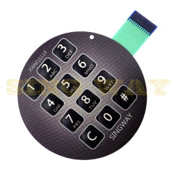 PCB de OEM do circuito para Interruptor de Membrana de montagem SMT