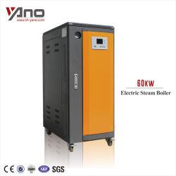 100KW 143kg/Hr la caldera de vapor eléctrico inteligente LCD Controladora utilizada en la industria farmacéutica