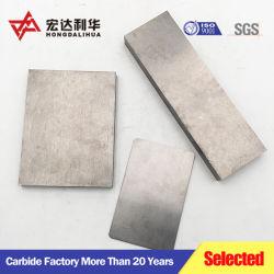 Feuille de carbure de tungstène poli/ carbure cimenté Conseil