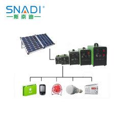 10W à 150 W CC Système d'alimentation solaire portable pour le camping du générateur