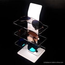 3중 Acrylic Sunglasses 디스플레이 랙, 안경 숍