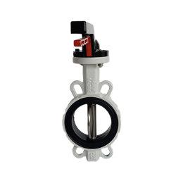 La palanca Industrial PTFE de hierro dúctil asentada la válvula de mariposa Wafer válvula de combustible de la electroválvula válvula de compuerta Válvula de bola