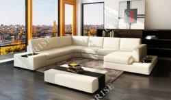 Salle de séjour avec canapé-Set Table canapé moderne de meubles d'ACCUEIL JEU DE COUPE