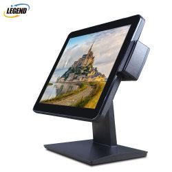 MSR Optinal를 가진 접촉 스크린 모니터 15 인치 방수 산업 VGA/HDMI LCD 위원회