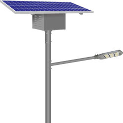 200W 상용 실외 조명 LED 태양광 스트리트 조명 진열대