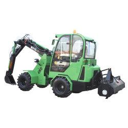 cargadora compacta de Gato pequeño Attachmants tractores de la cuchara de piedra frontal